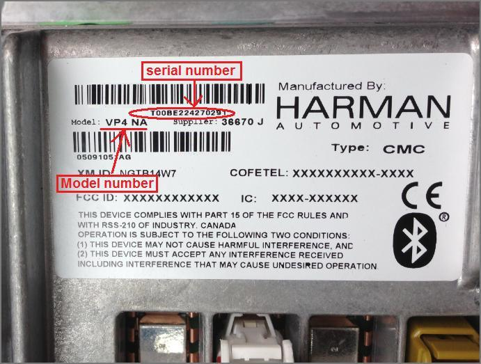 Chrysler/Dodge/Ram ICOS RAX USB conversion RX3/4