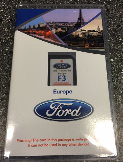 Ford European oem conversion SD card + Radio for Sync 2 / 2015 Mustang