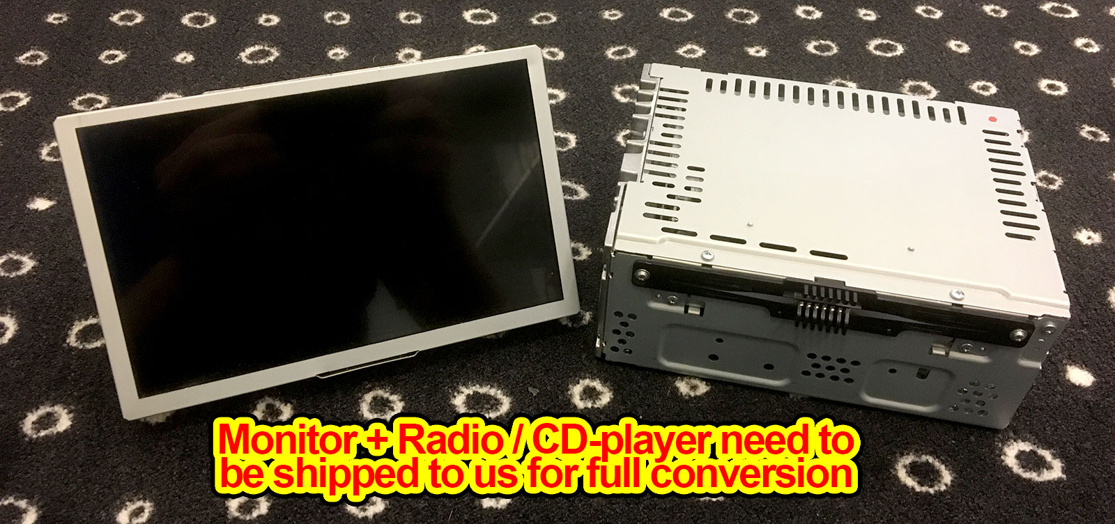 Ford European oem conversion SD card + Radio for Sync 2 / 2013-2015
